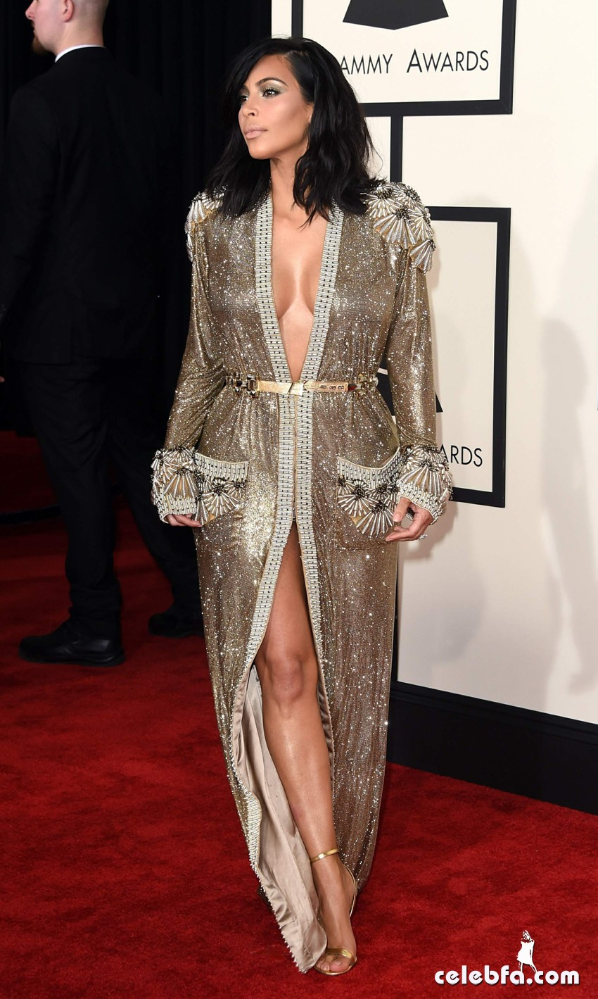 Kim Kardashian 57th Annual GRAMMY Awards (3)