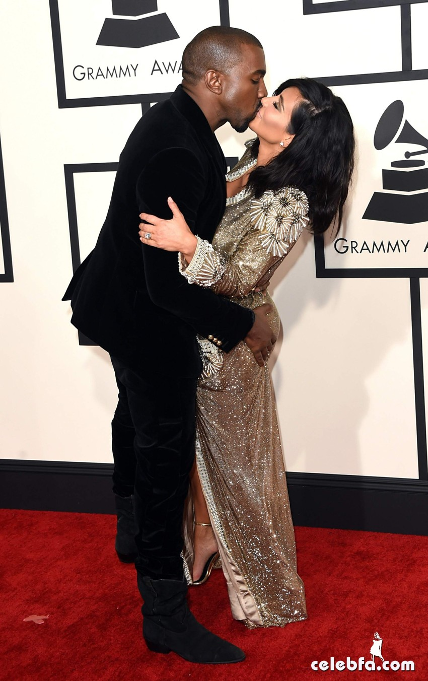 Kim Kardashian 57th Annual GRAMMY Awards (5)