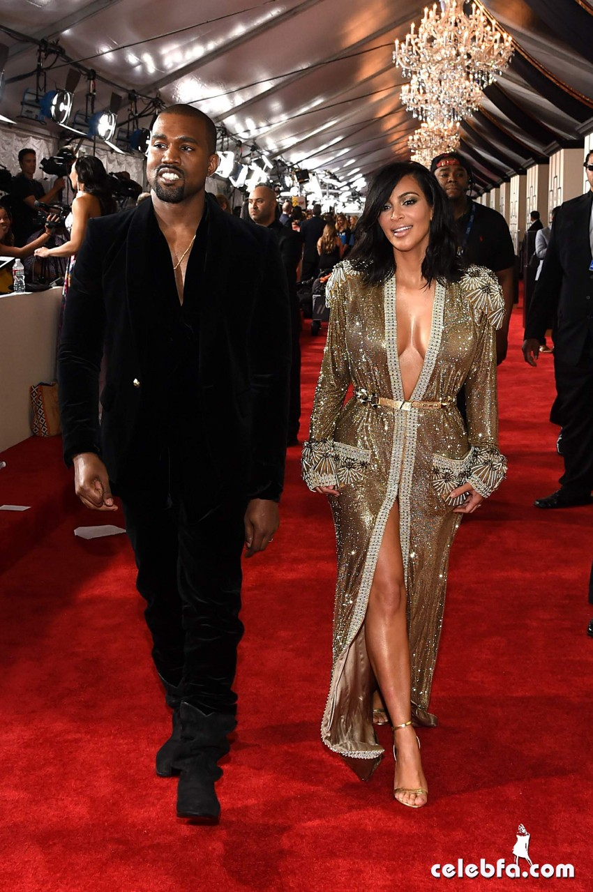 Kim Kardashian 57th Annual GRAMMY Awards (8)