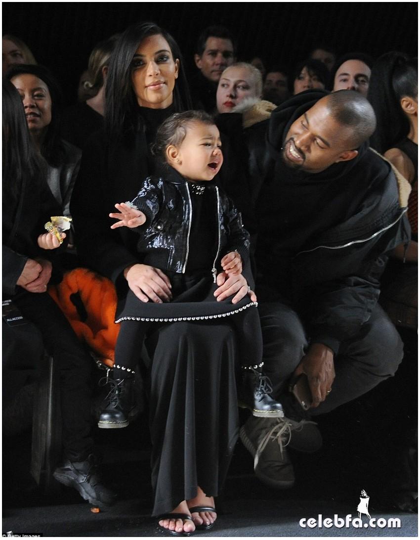 Kim Kardashian- Alexander Wang's show (1)