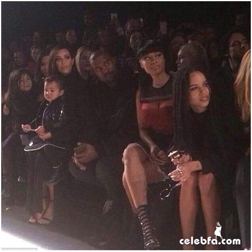 Kim Kardashian- Alexander Wang's show (10)