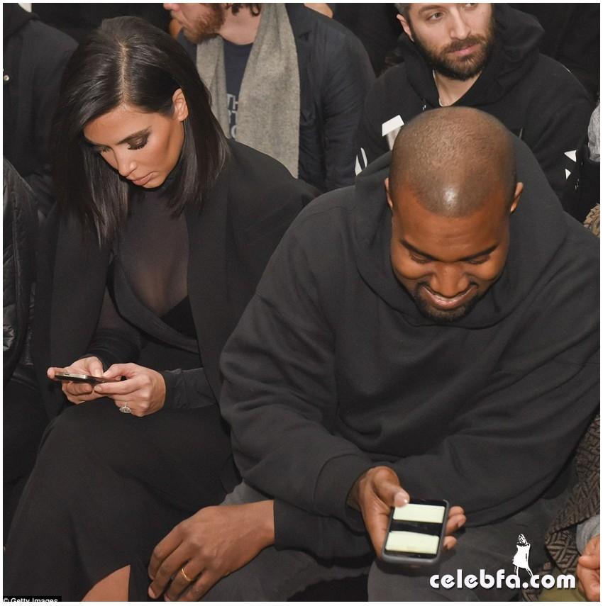 Kim Kardashian- Alexander Wang's show (11)