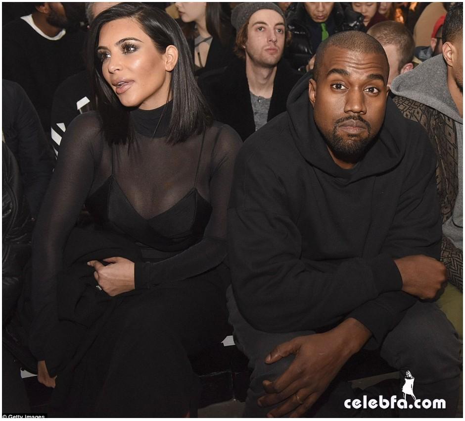 Kim Kardashian- Alexander Wang's show (15)