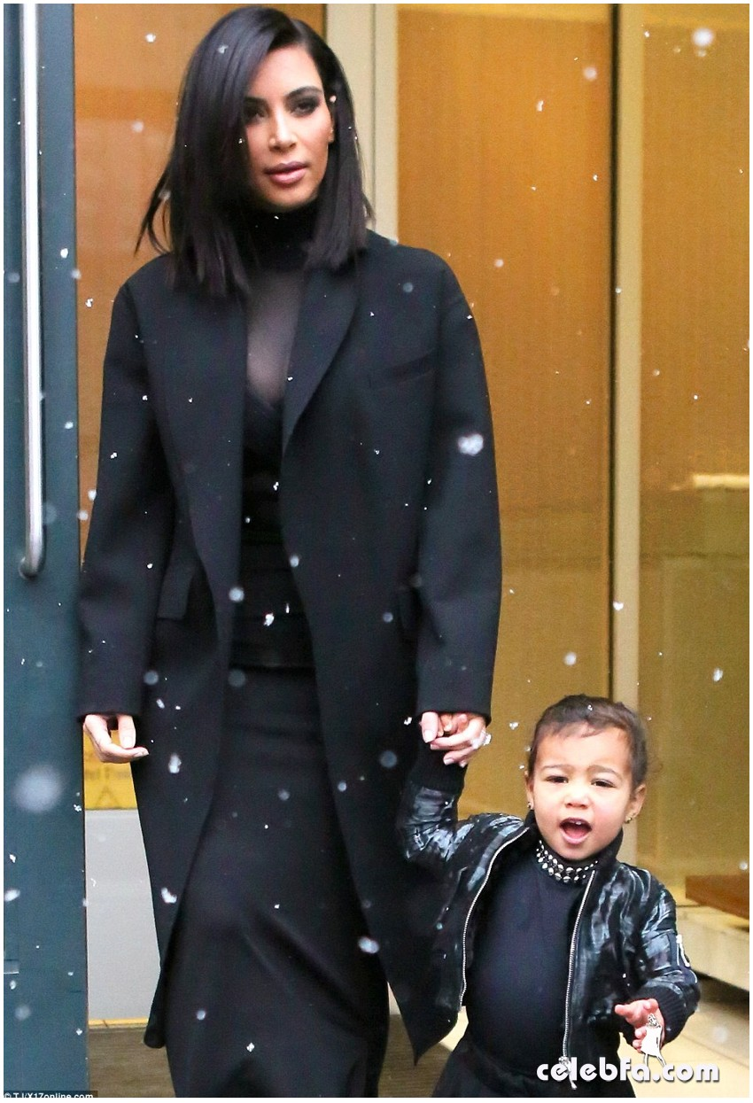 Kim Kardashian- Alexander Wang's show (16)