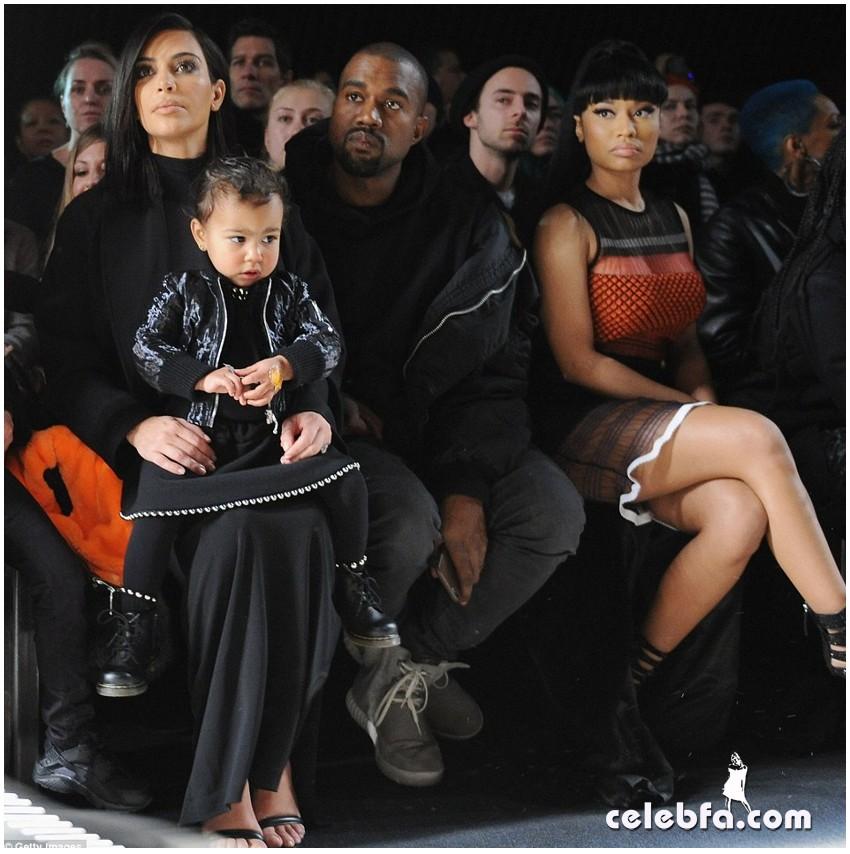 Kim Kardashian- Alexander Wang's show (2)