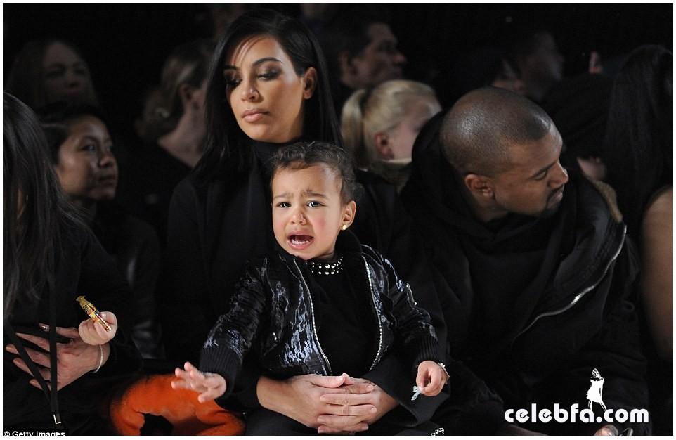 Kim Kardashian- Alexander Wang's show (5)
