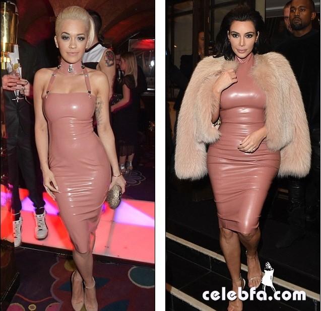 Kim Kardashian & Rita Ora  (1)