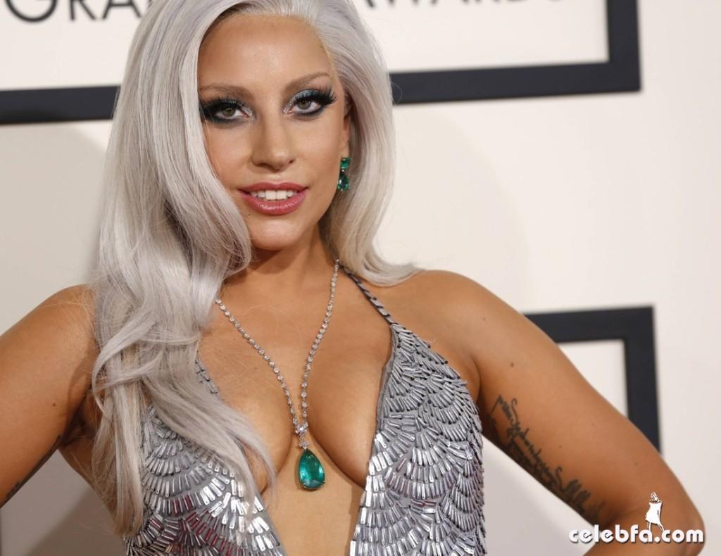 Lady Gaga - The 57th Annual GRAMMY Awards (1)