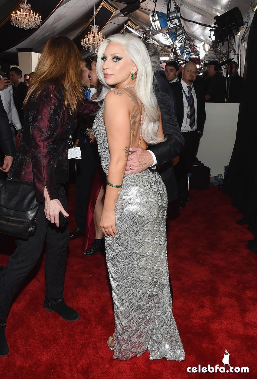 Lady Gaga - The 57th Annual GRAMMY Awards (2)