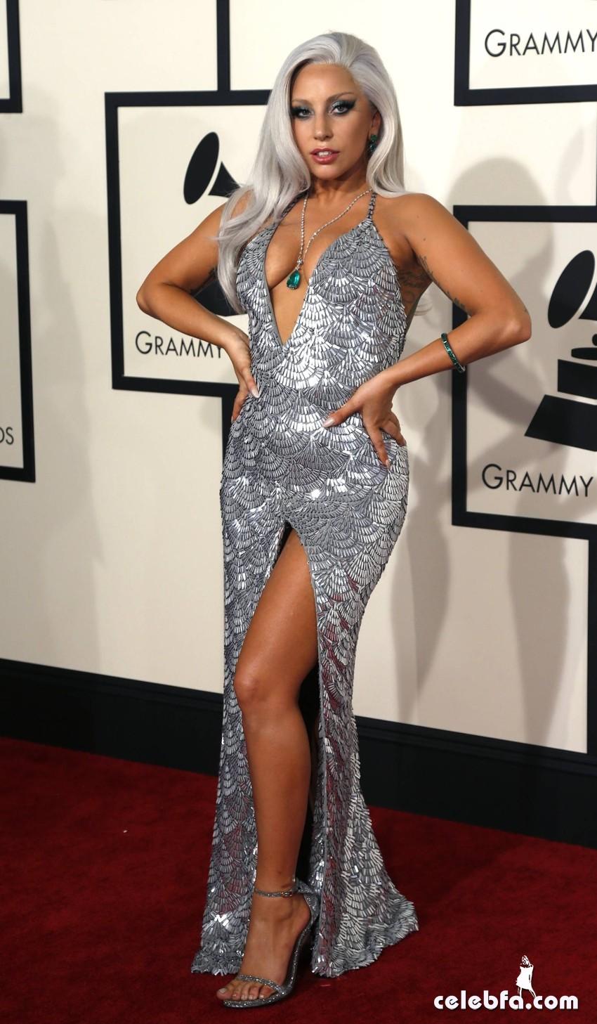 Lady Gaga - The 57th Annual GRAMMY Awards (3)