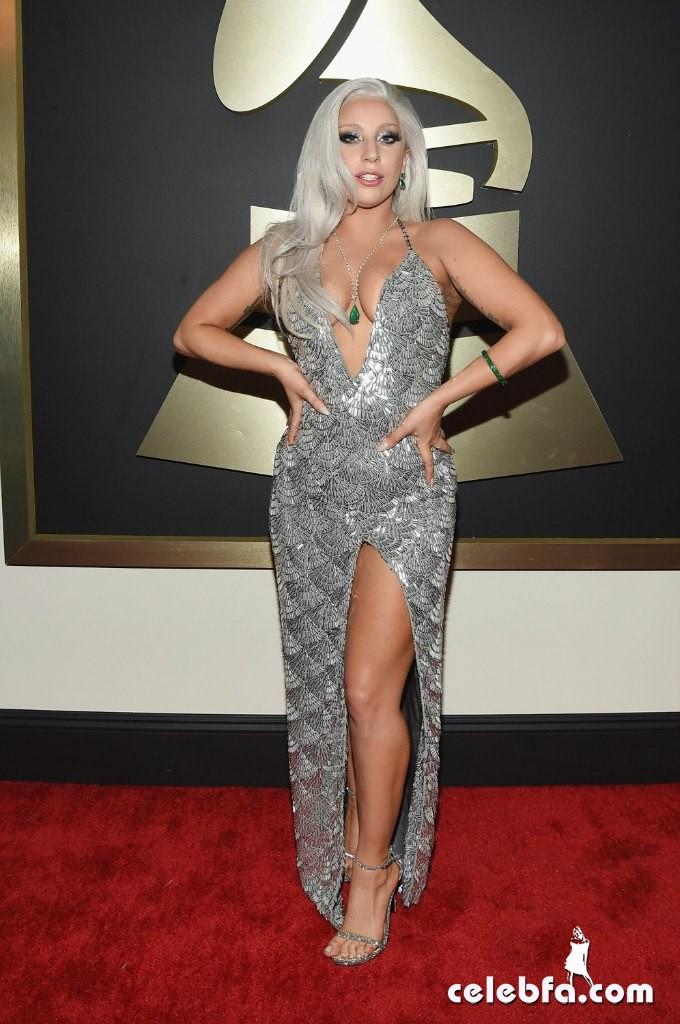 Lady Gaga - The 57th Annual GRAMMY Awards (4)