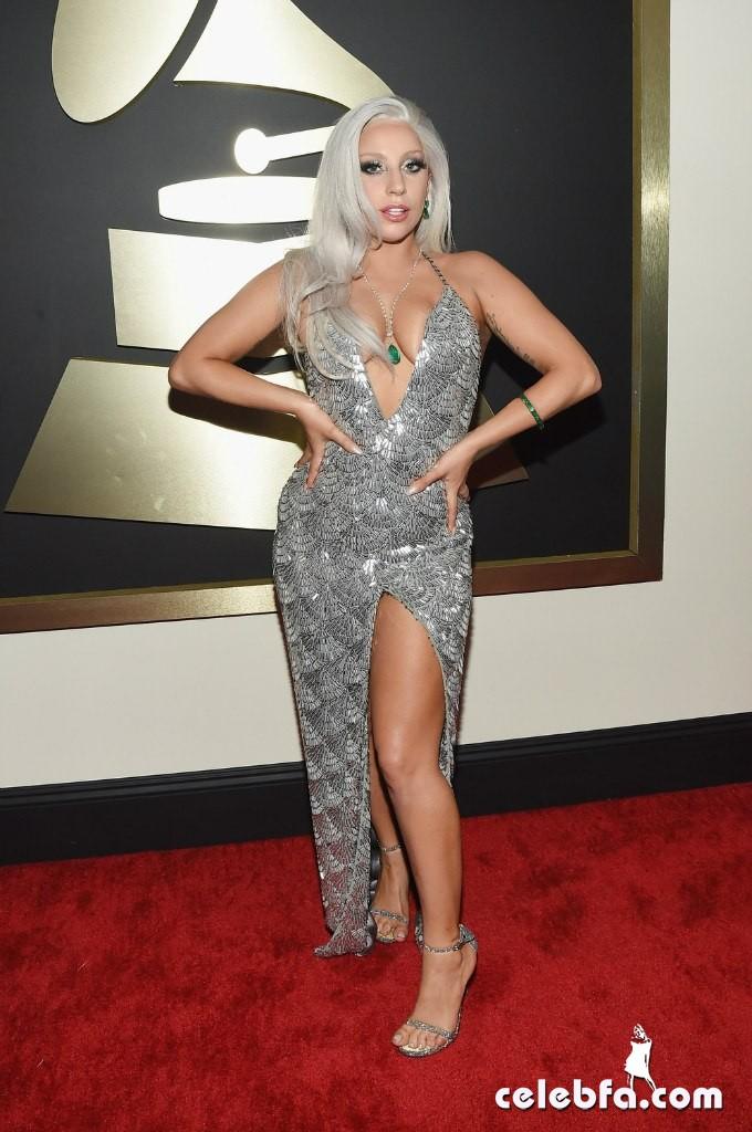 Lady Gaga - The 57th Annual GRAMMY Awards (5)