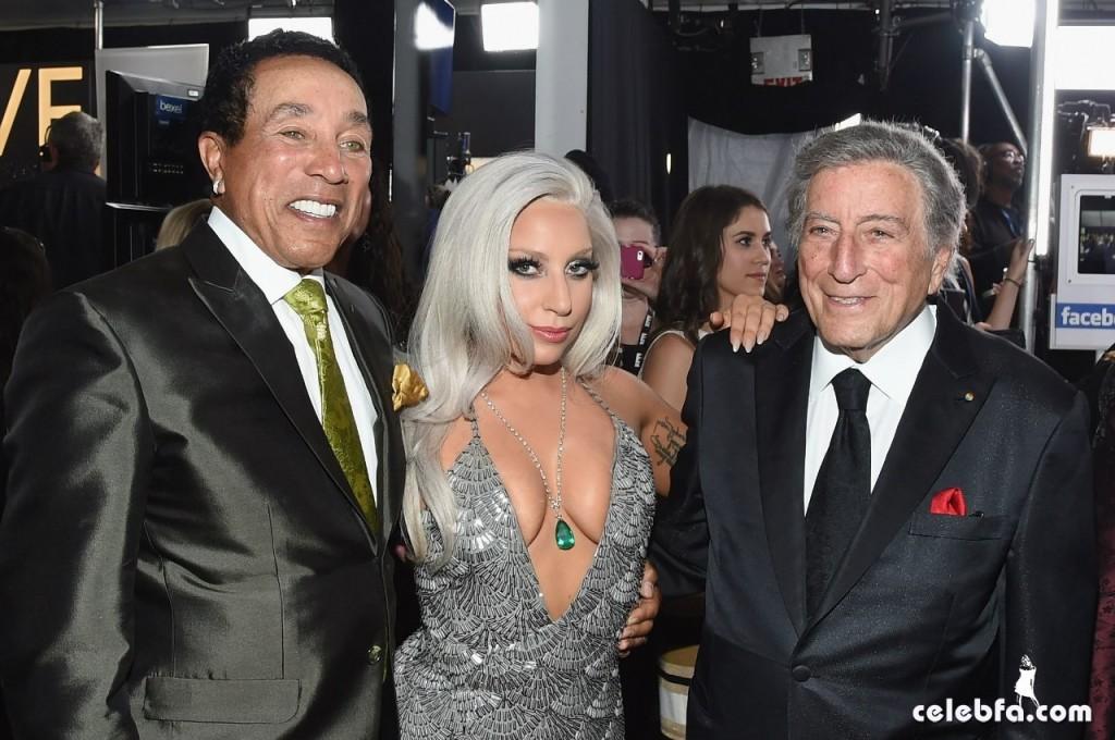 Lady Gaga - The 57th Annual GRAMMY Awards (7)