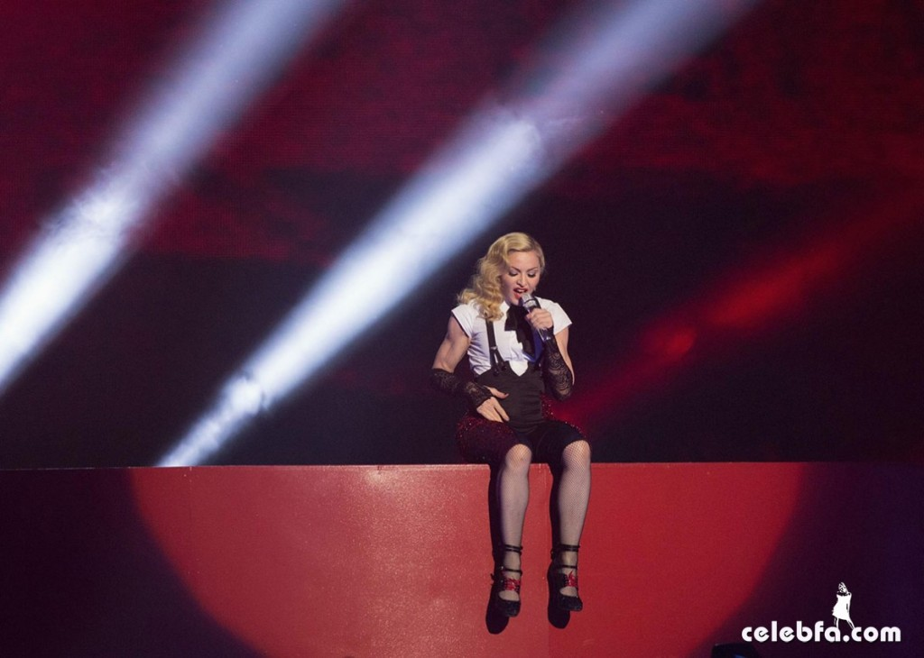 MADONNA Performs at Brit Awards