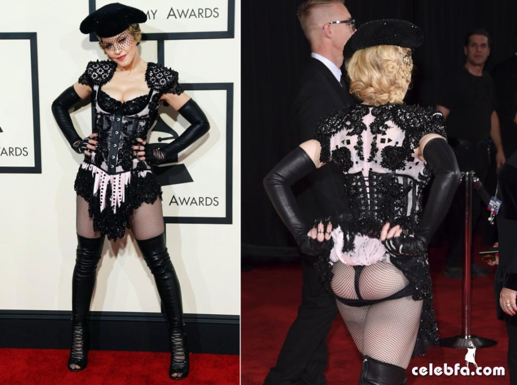 Madonna - The 57th Annual GRAMMY Awards (2)
