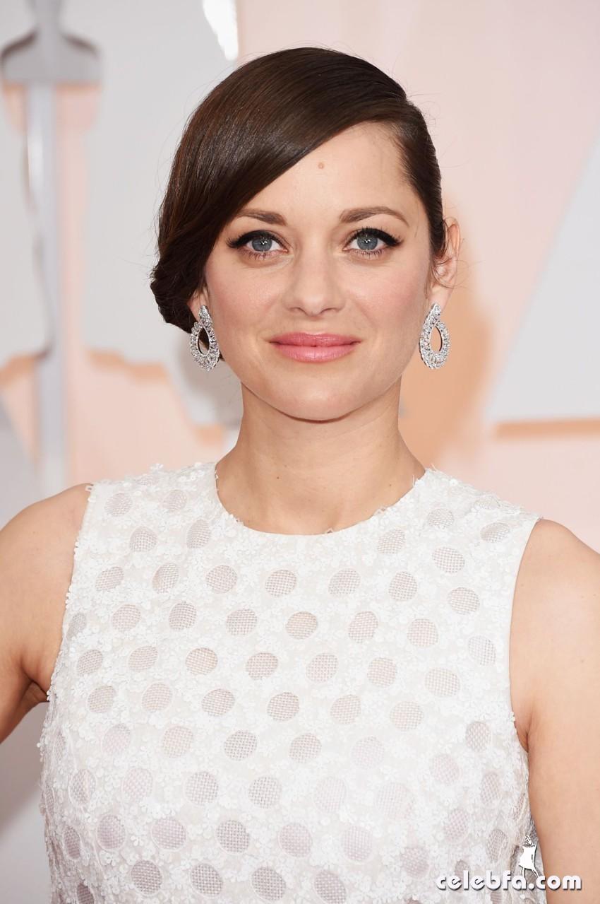 عکس های ماریون کوتیار بر فرش قرمز مراسم اهدا جوایز اسکار 2015 Oscars Red Carpet