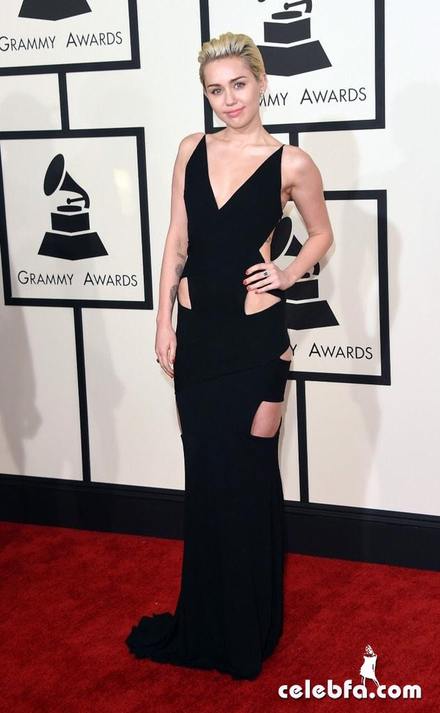 Miley Cyrus - The 57th Annual GRAMMY Awards (1)