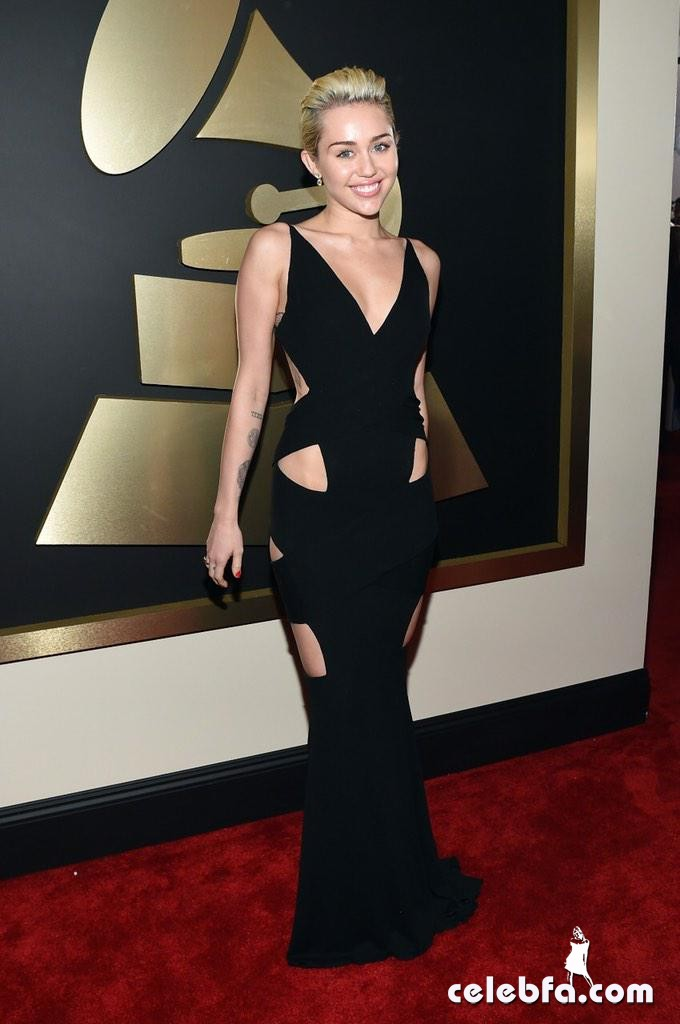 Miley Cyrus - The 57th Annual GRAMMY Awards (4)