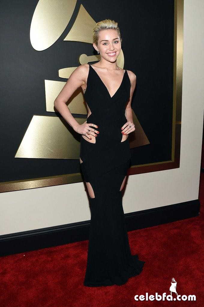 Miley Cyrus - The 57th Annual GRAMMY Awards (5)