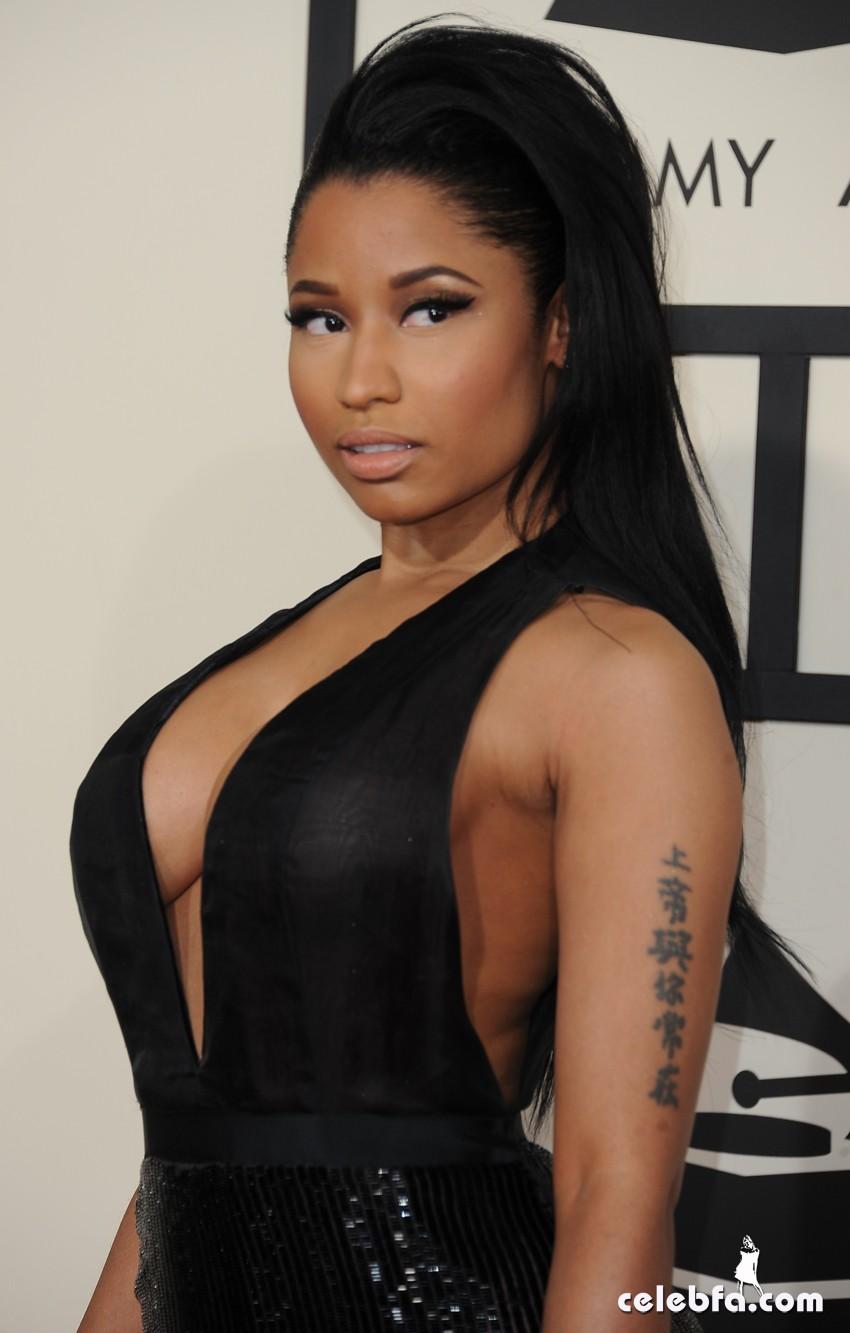 Nicki Minaj - The 57th Annual GRAMMY Awards (2)