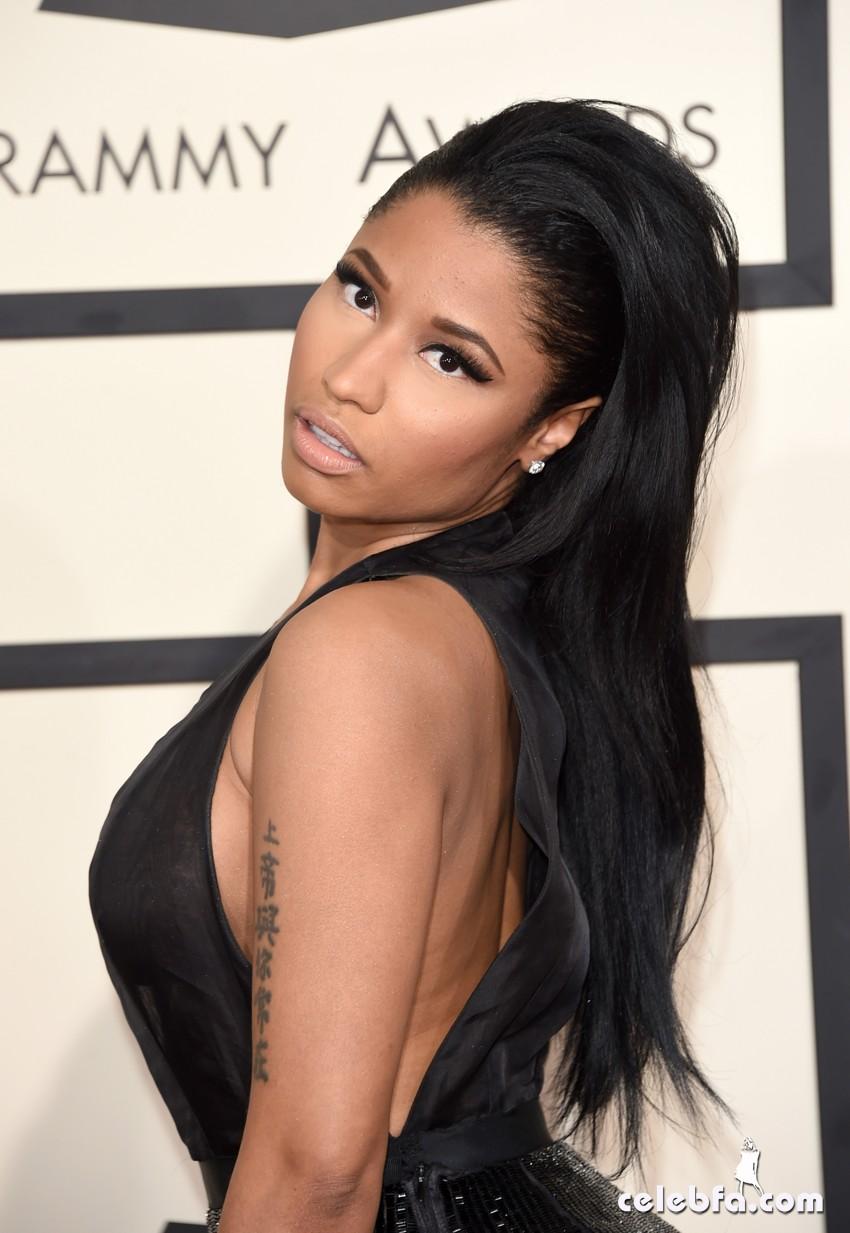 Nicki Minaj - The 57th Annual GRAMMY Awards (4)
