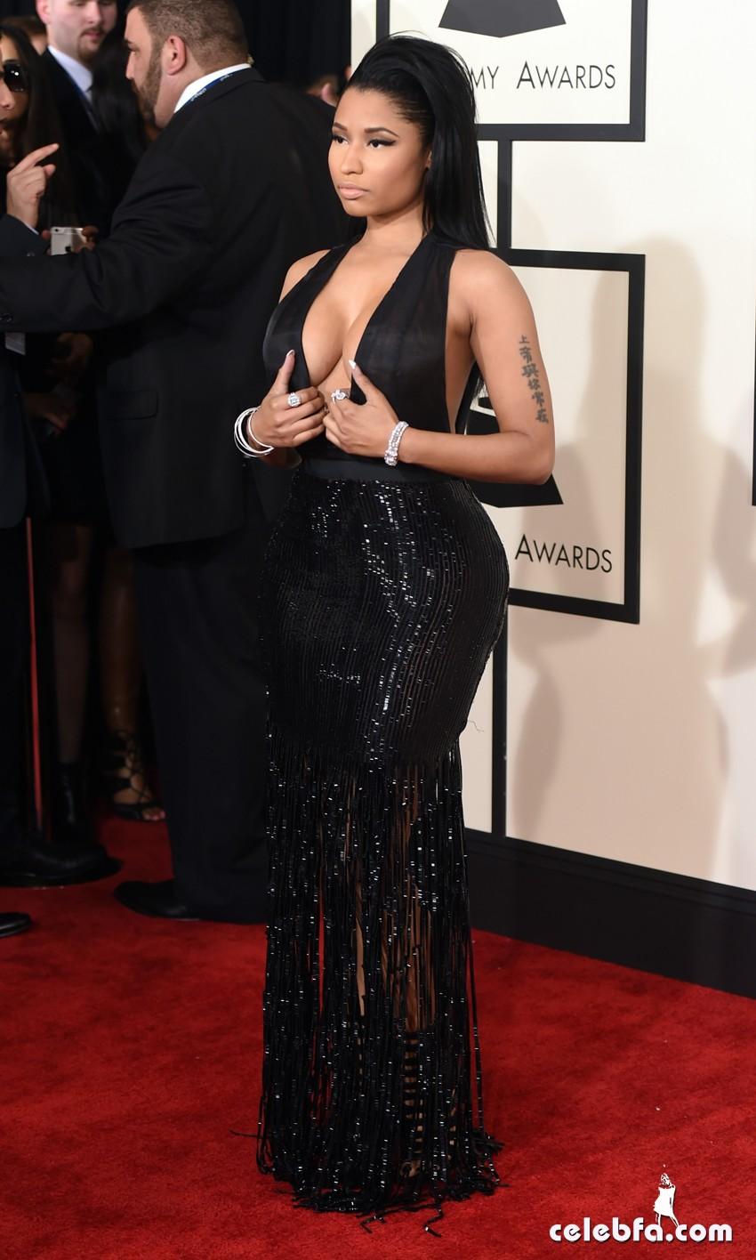 Nicki Minaj - The 57th Annual GRAMMY Awards (6)