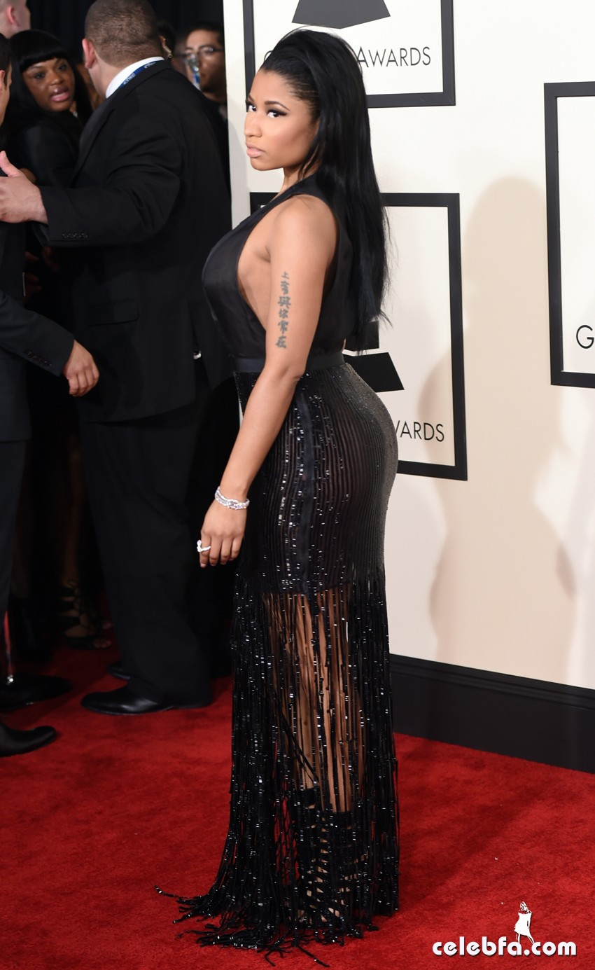 Nicki Minaj - The 57th Annual GRAMMY Awards (7)