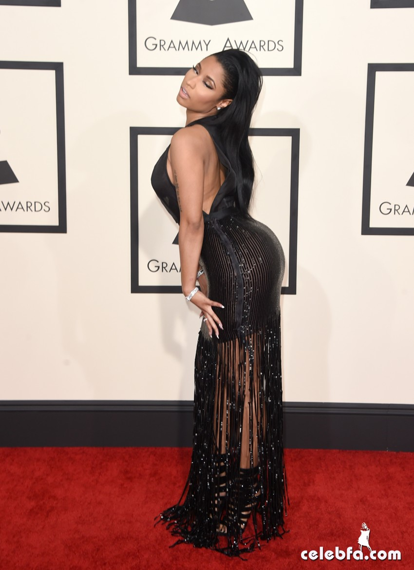 Nicki Minaj - The 57th Annual GRAMMY Awards (8)