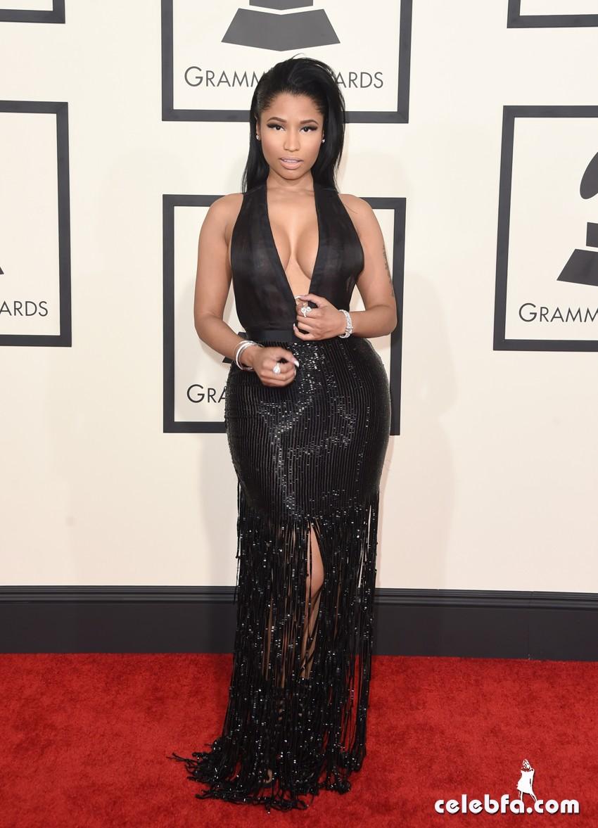Nicki Minaj - The 57th Annual GRAMMY Awards (9)