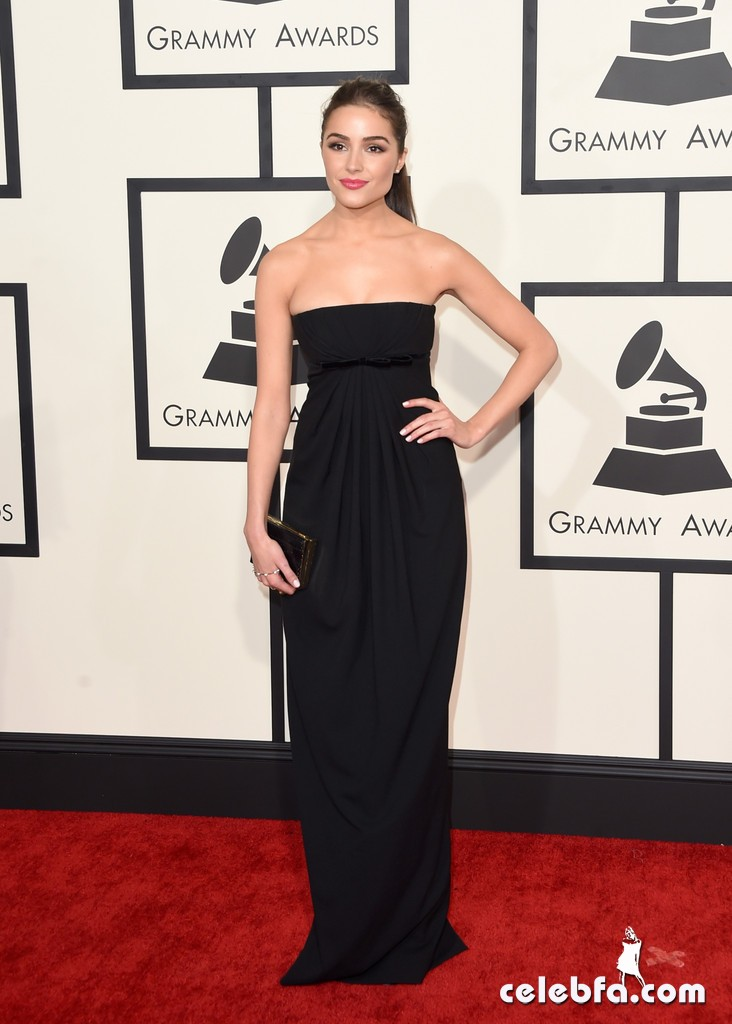 Olivia Culpo - 57th Annual Grammy Awards (1)