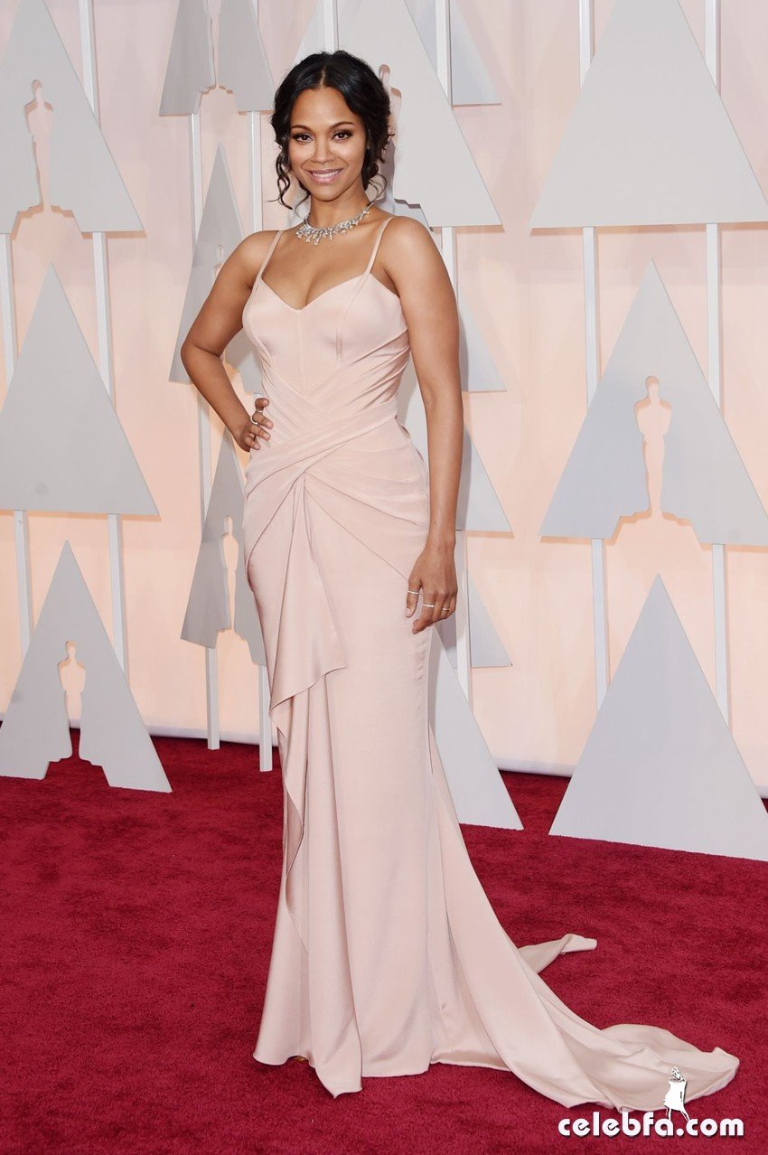 zoe-saldana-2015-oscars-red-carpet (4)