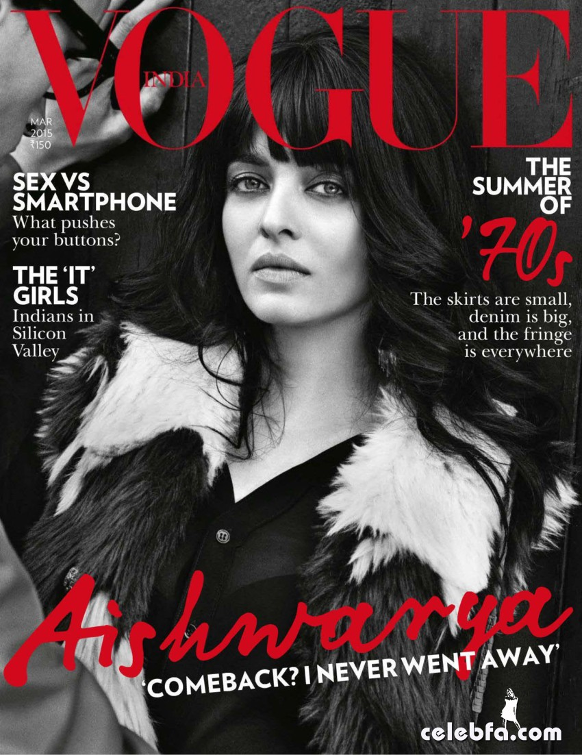 Aishwarya Rai Vogue India March 2015  (1)