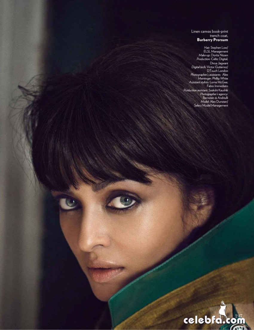 Aishwarya Rai Vogue India March 2015  (9)
