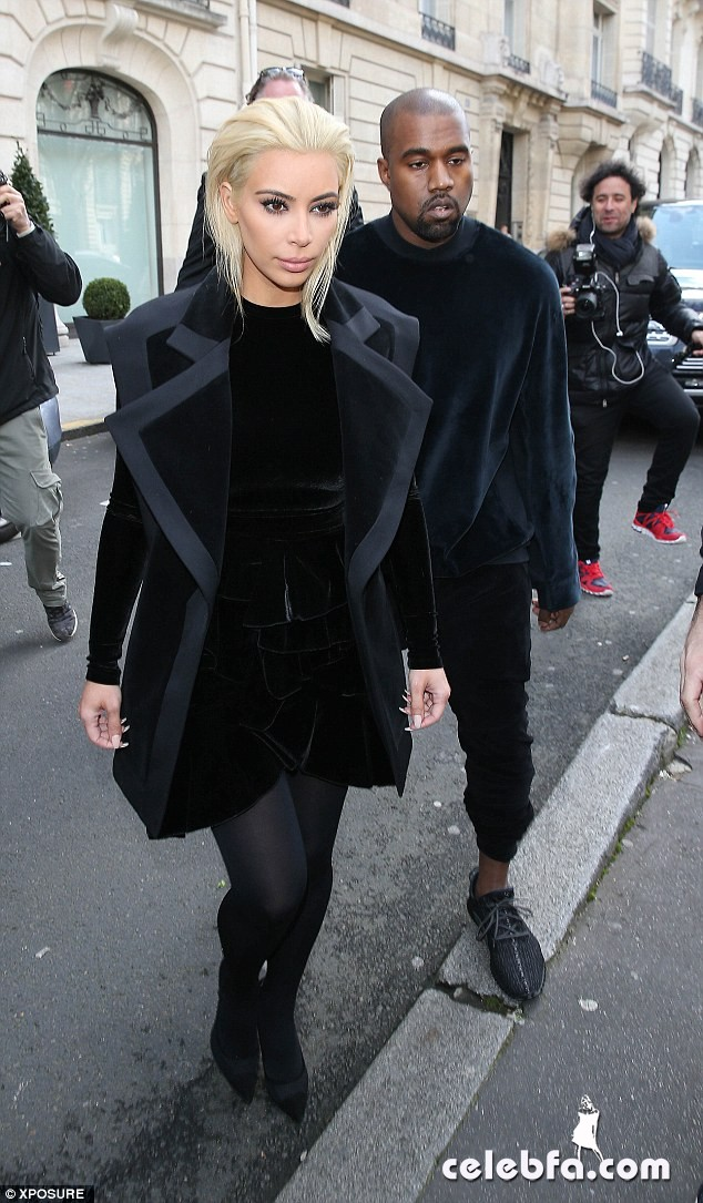 Kim Kardashian Blonde Hair (3)