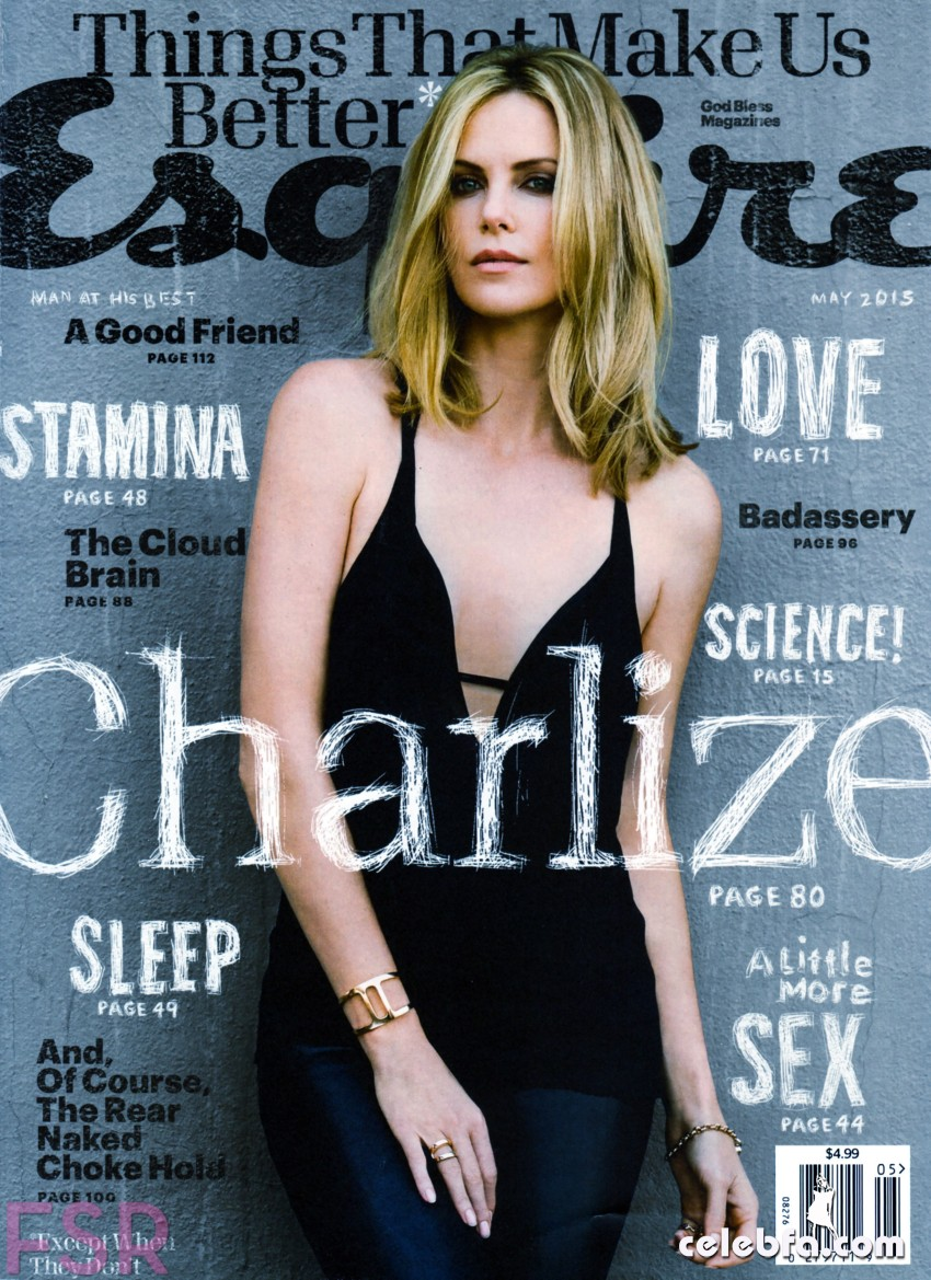 Charlize Theron – Esquire USA May 2015  (1)