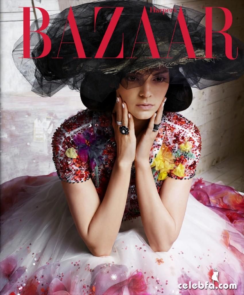 Kendall Jenner US Harper's Bazaar May 2015 (1)