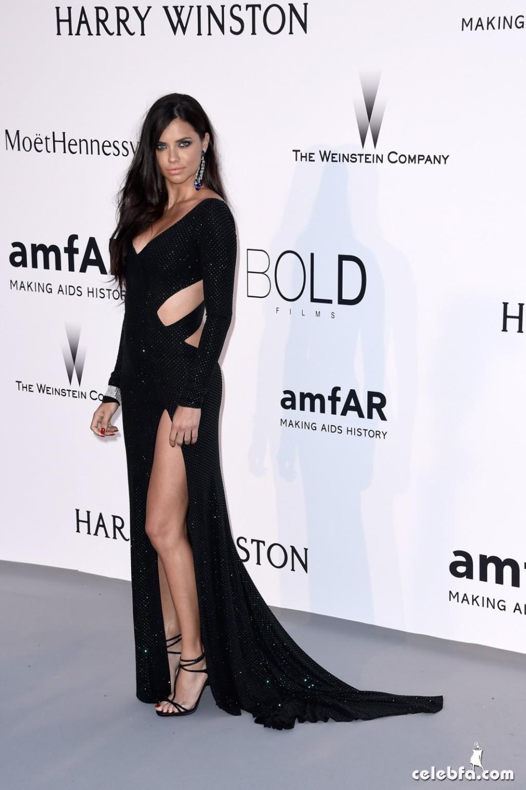 Adriana lima_amfAR's Cannes Gala (7)