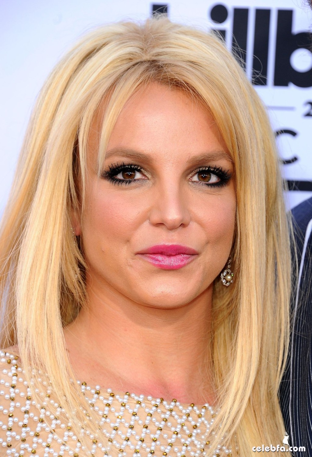 BRITNEY SPEARS at 2015 Billboard Music Awards (1)