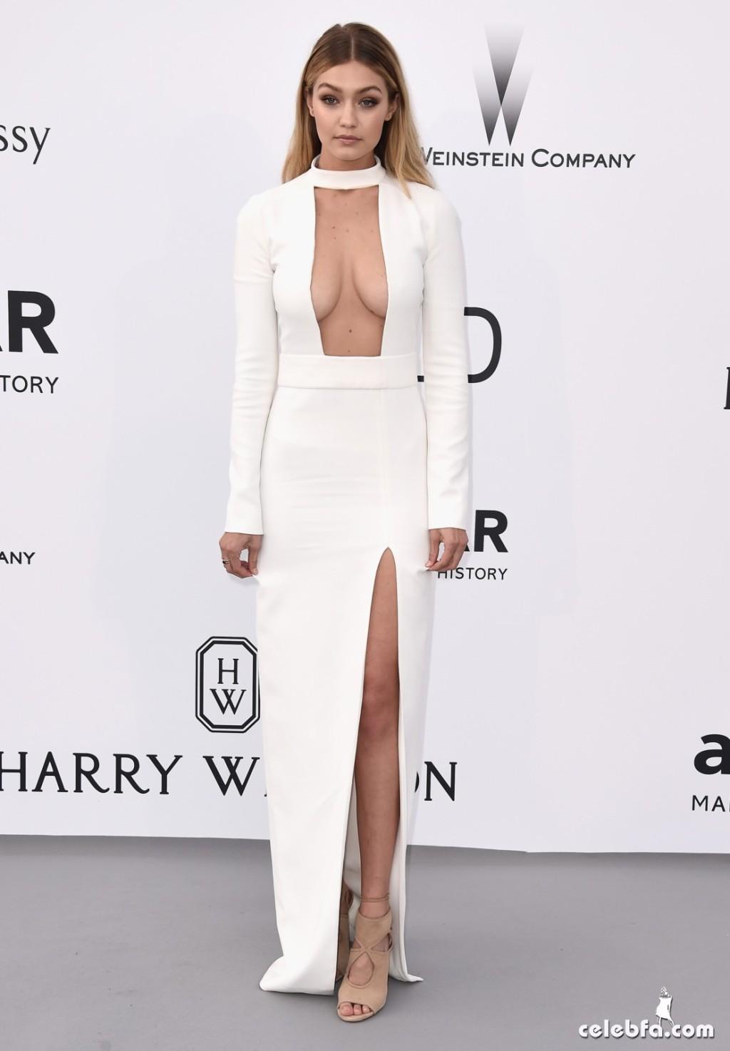 Gigi_Hadid_amfAR's Cannes Gala (1)