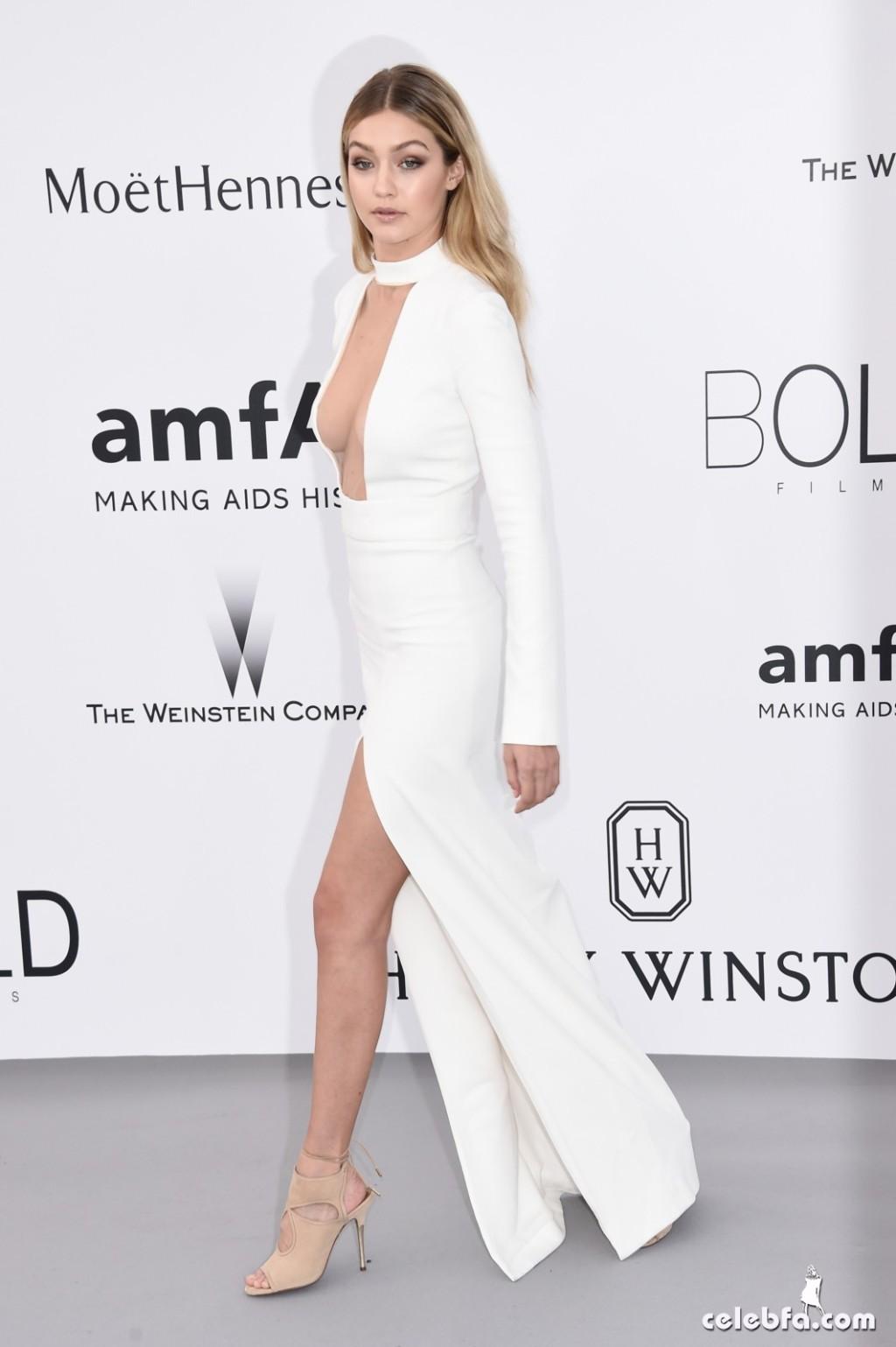 Gigi_Hadid_amfAR's Cannes Gala (2)