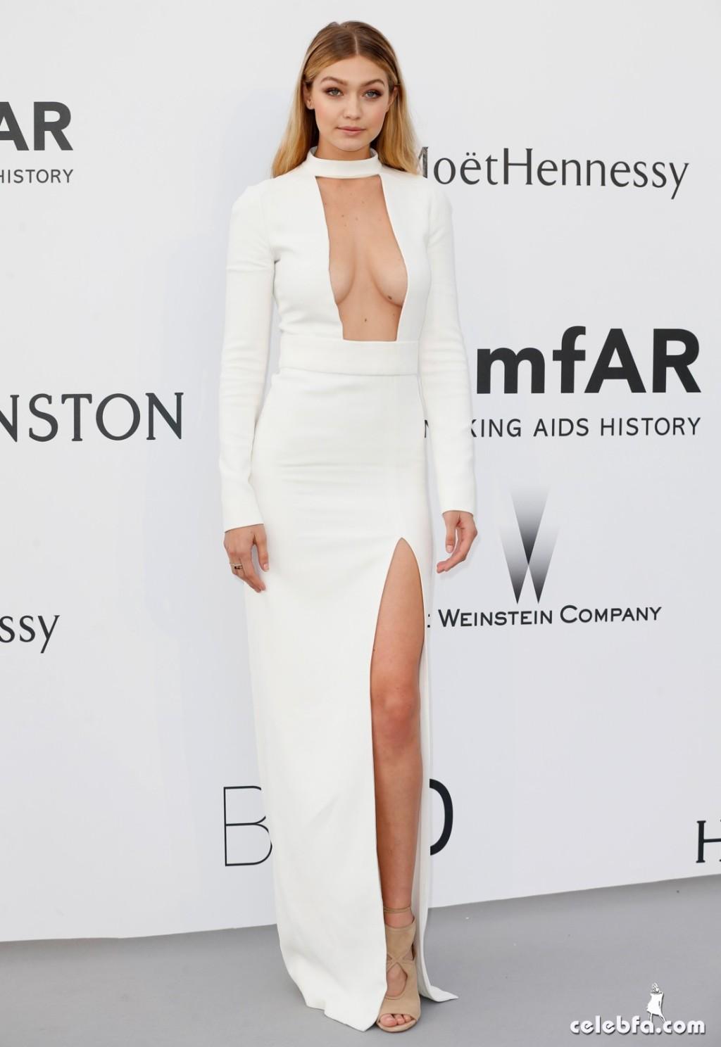 Gigi_Hadid_amfAR's Cannes Gala (3)