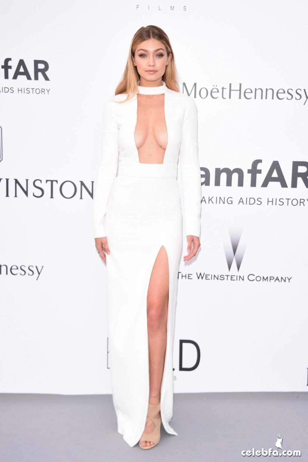 Gigi_Hadid_amfAR's Cannes Gala (7)
