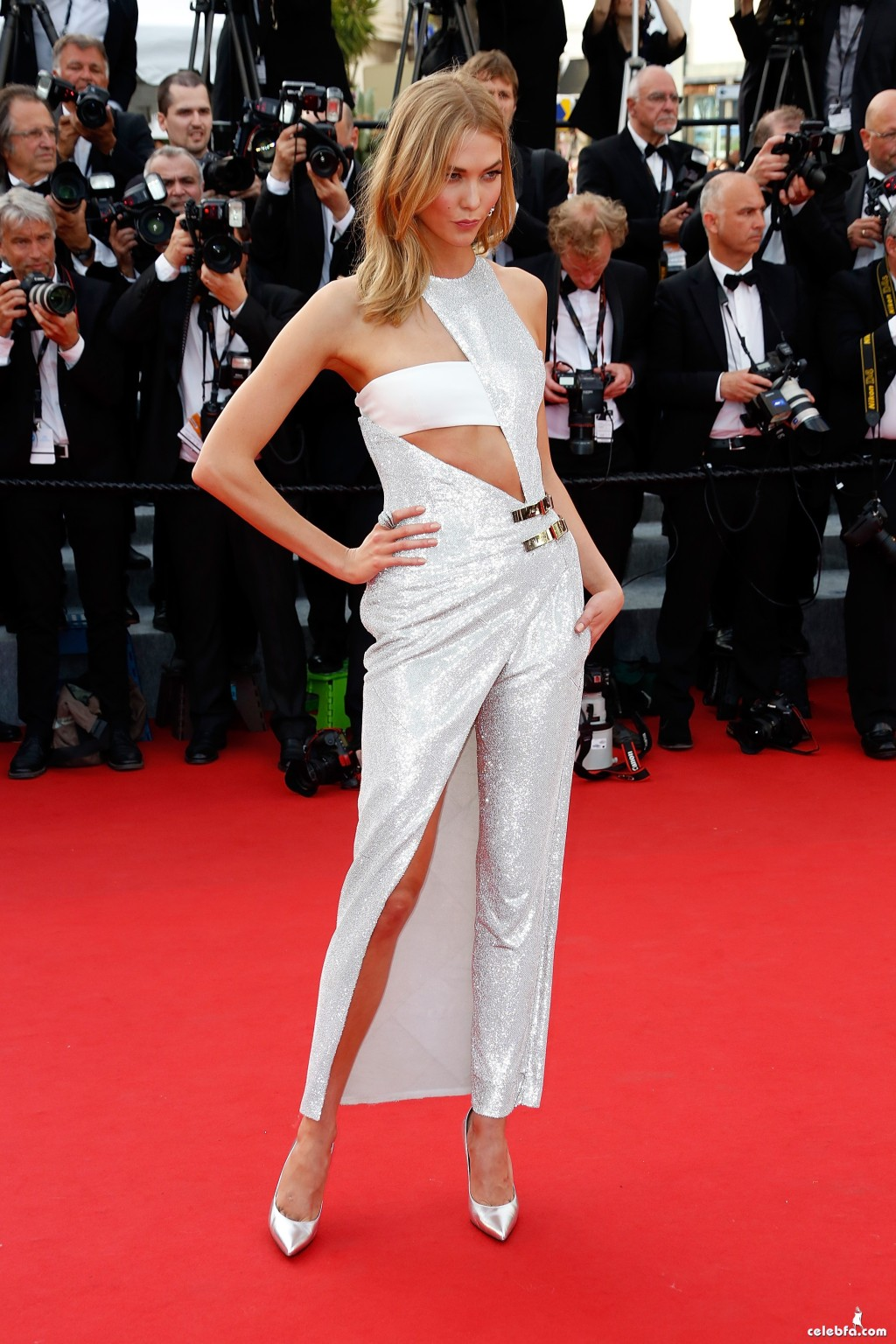 """attends the opening ceremony and """"La Tete Haute"""" (""""Standing Tall"""") premiere during the 68th annual Cannes Film Festival on May 13, 2015 in Cannes, France."""