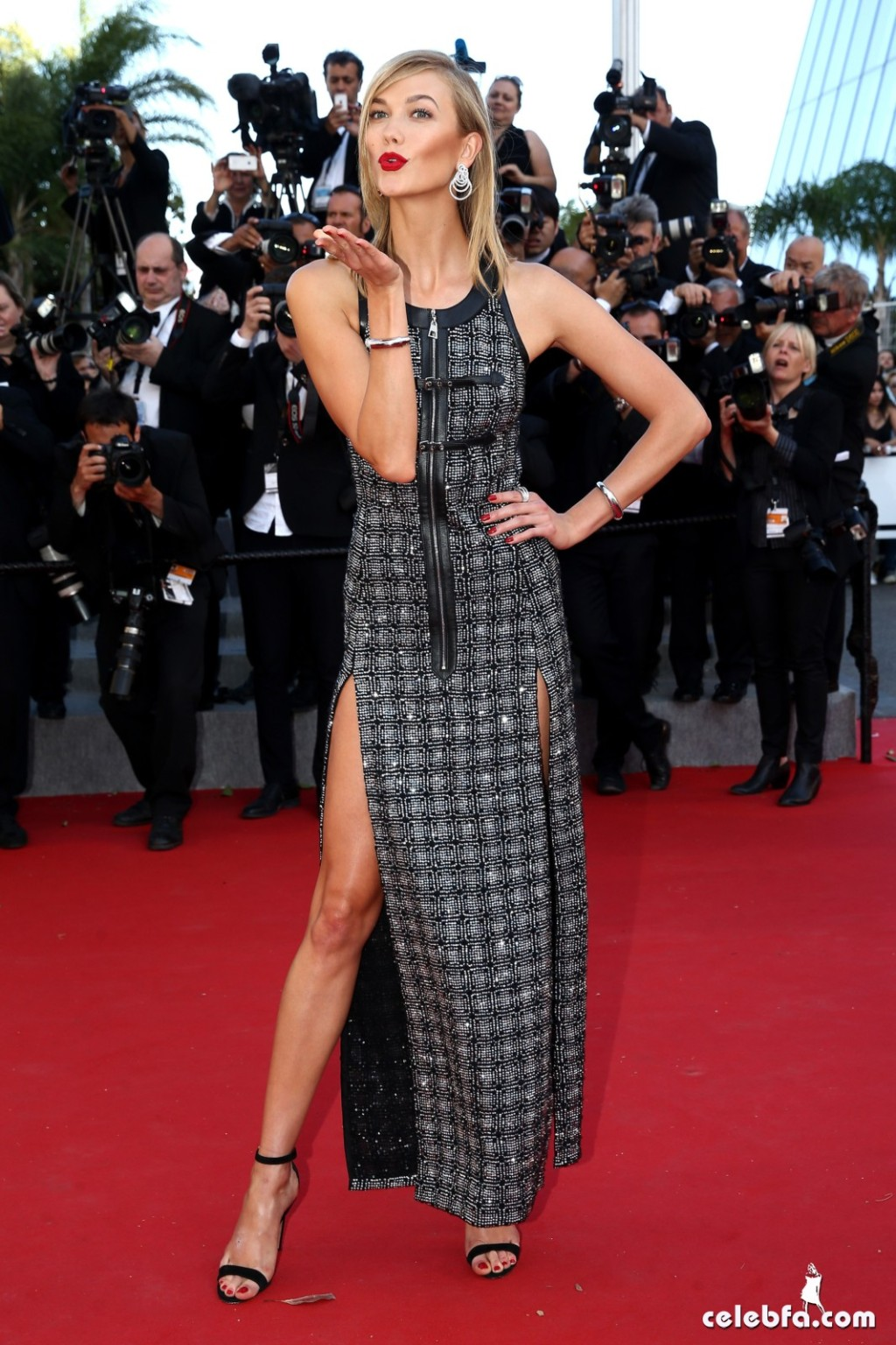 Karlie Kloss at Youth premiere  Cannes Film Festival  (1)
