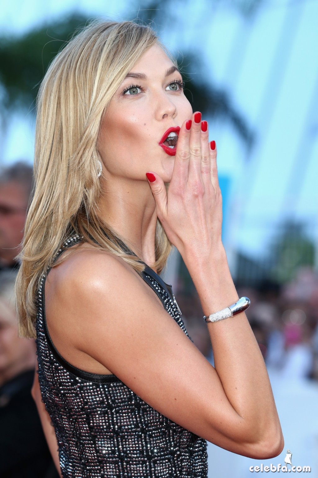 Karlie Kloss at Youth premiere  Cannes Film Festival  (2)