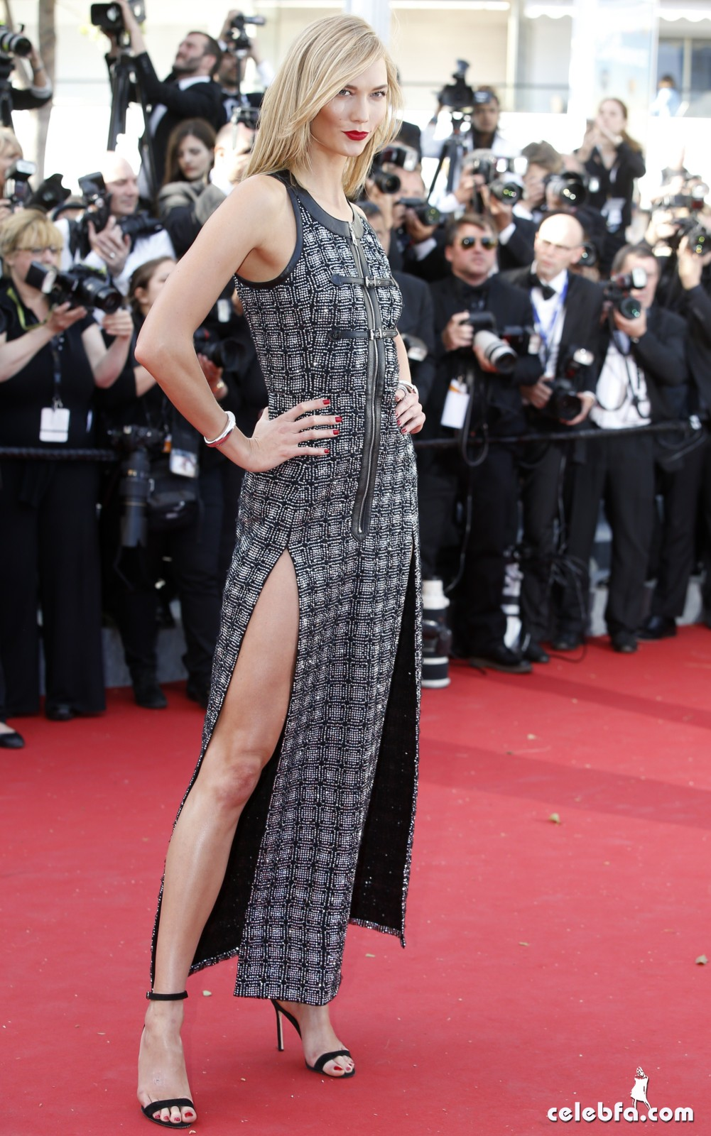 Karlie Kloss at Youth premiere  Cannes Film Festival  (4)