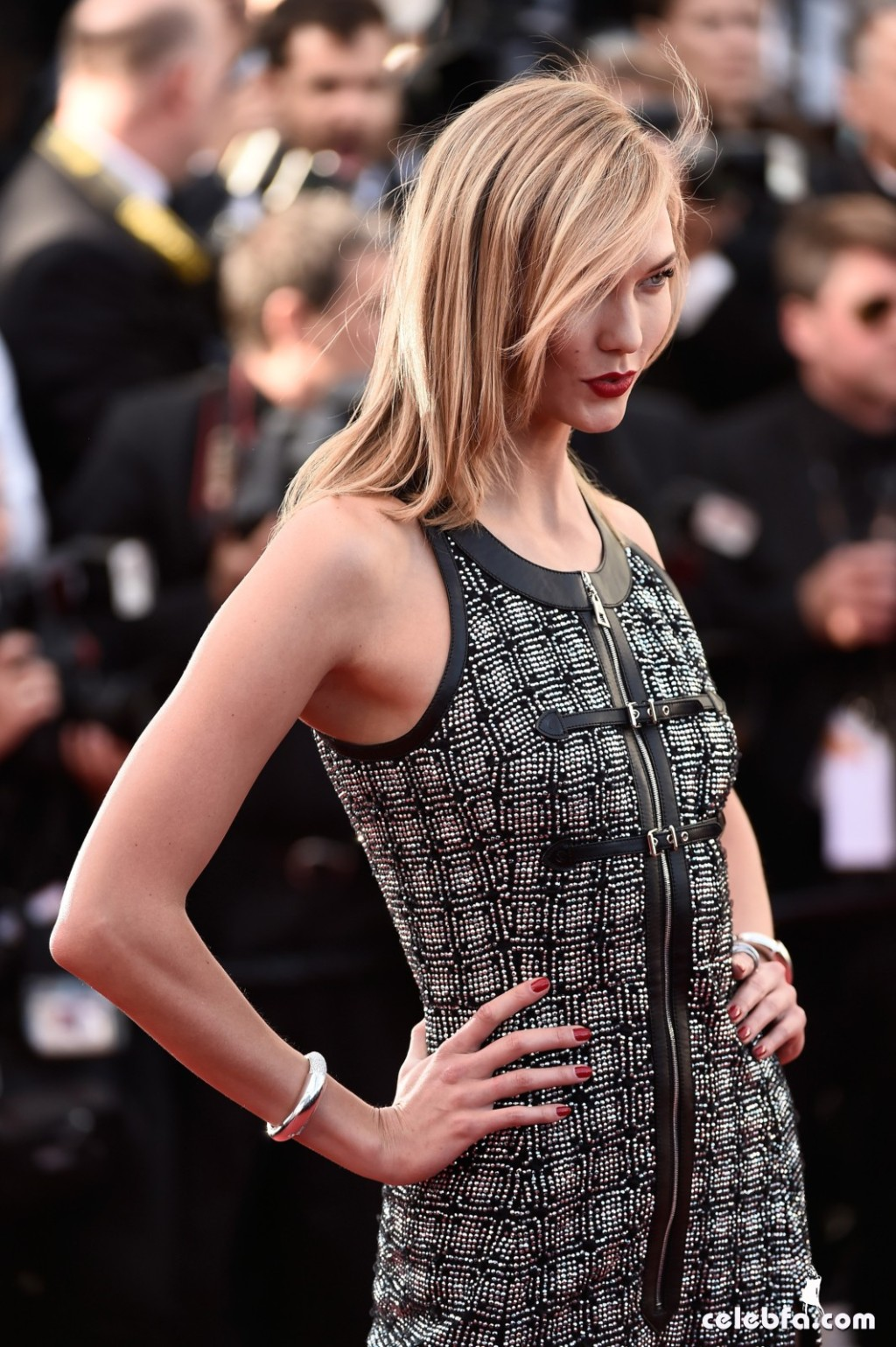 Karlie Kloss at Youth premiere  Cannes Film Festival  (5)