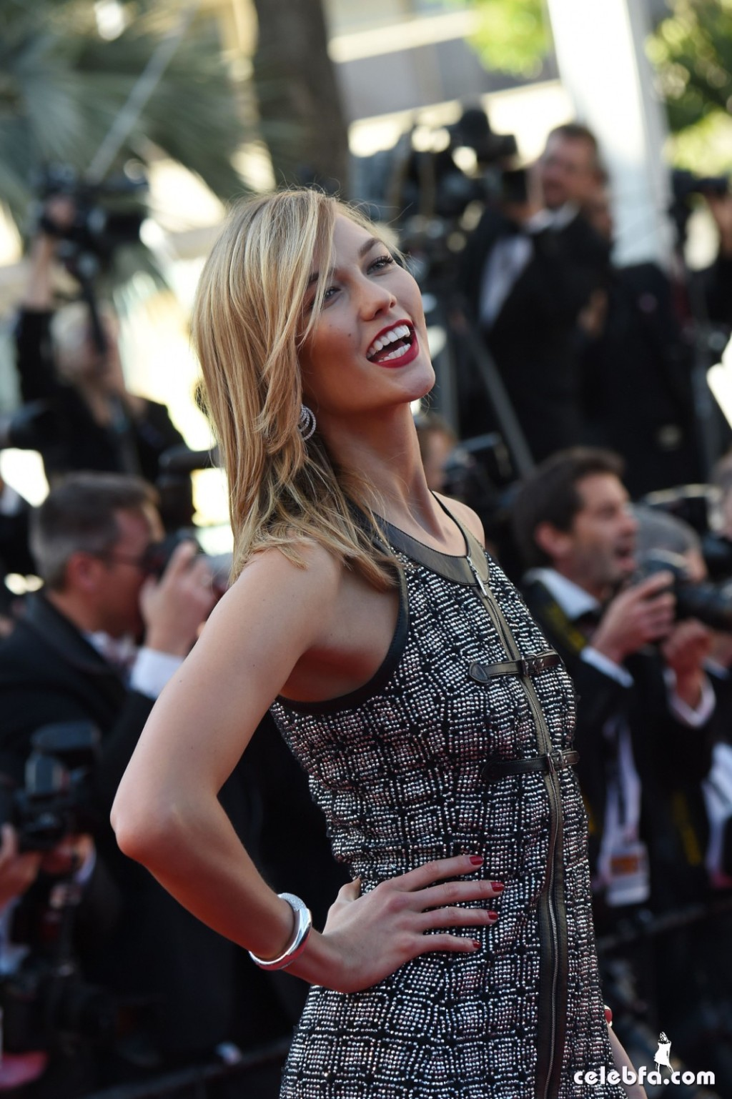 Karlie Kloss at Youth premiere  Cannes Film Festival  (6)