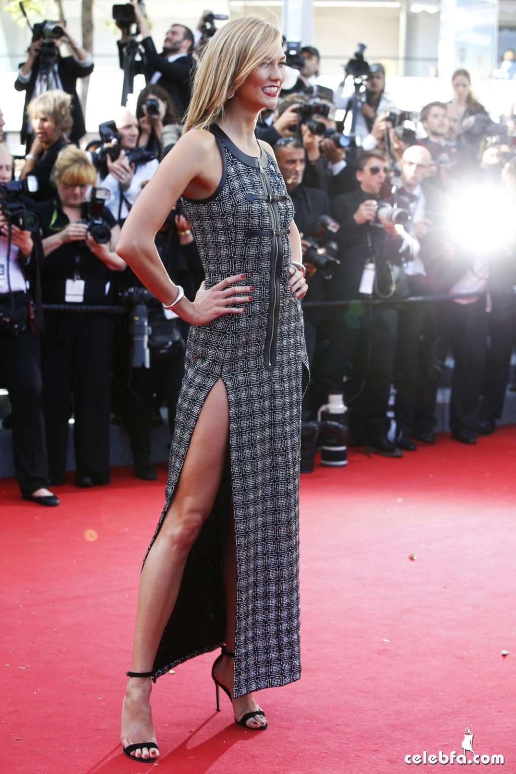 Karlie Kloss at Youth premiere  Cannes Film Festival  (7)