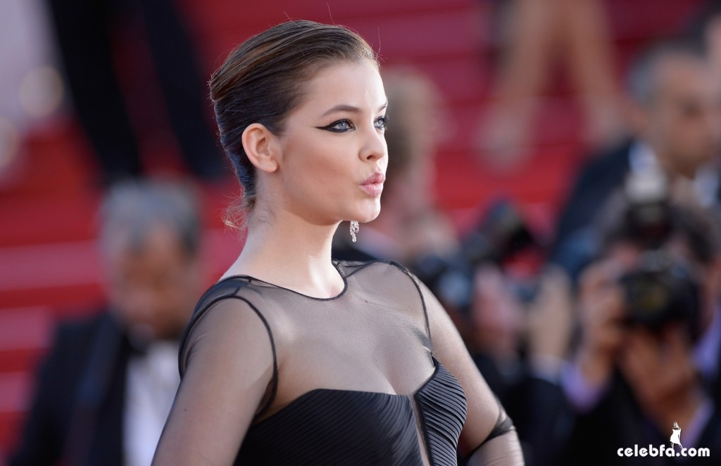 Palvin Barbara - 'Youth' premiere  Cannes (4)